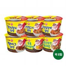 오뚜기 컵밥 김치참치+오삼+닭갈비+햄벅+톡톡+차돌X2개씩