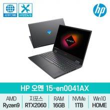 오멘 15-en0041AX / 노트북 / 라이젠9 / RTX2060 / RAM16GB /SSD 1TB /윈10 게이밍