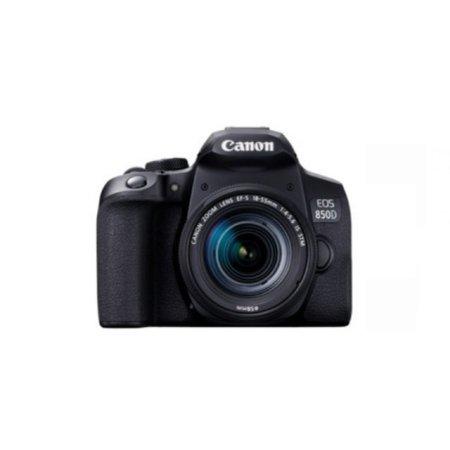 [16G메모리 증정][정품]캐논 EOS-850D DSLR 렌즈키트[본체+18-55mm IS STM]