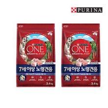 [퓨리나]원 7세이상 노령견용 3.4kg 2팩/애견사료