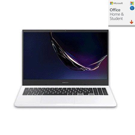 [오피스] 삼성 북플러스 NT350XCR-A78MW 노트북 인텔 10세대 i7 8GB 256GB 프리도스 15inch(화이트)