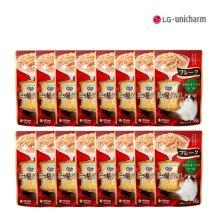 [긴노스푼] 미쓰보시 구루메 후레이크(닭가슴&참치&가다랑어) 35g 16팩