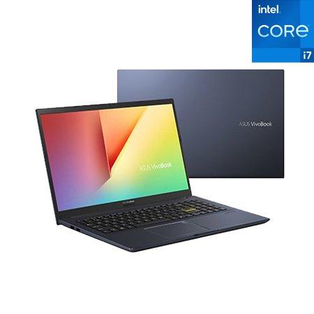 비보북15 A-X513EA-11725D 노트북 인텔11세대i7 8GB 512GB 프리도스 39.6cm (블랙)