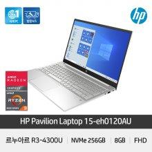 파빌리온 15-eh0120AU 노트북 R3-4300U 8GB NVMe256GB 39.6cm