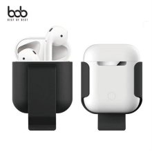 bob 에어팟 전용 클립형 하드케이스 휴대용 홀더/25549F
