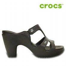 크록스 샌들 /WL- 201301-22Z / Womens Cyprus V Heel Espresso