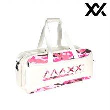 MAXX 배드민턴 가방 클래스백 2단 백팩 화이트핑크