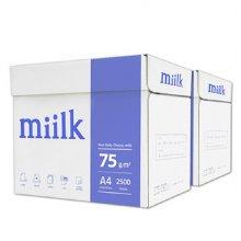 밀크 A4용지 75g 2박스(5000매) Miilk
