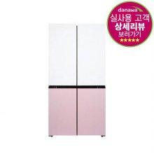 [배송지연-MD공지확인]피트인 파스텔 4도어 냉장고 HRF-SN566HBFR (566L)
