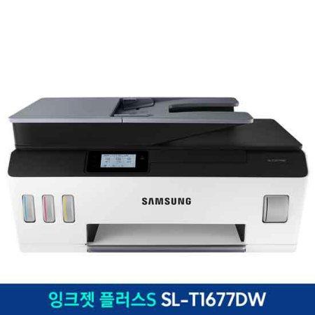 [상급 리퍼 단순변심] 삼성 잉크젯+S 컬러복합기[SL-T1677DW] 인쇄/복사/스캔/자동급지