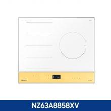 빌트인 3구 컬러 플렉스 인덕션 NZ63A8858XV (콰트로 플렉스존, 최고출력 3,400W,10분 초고화력)