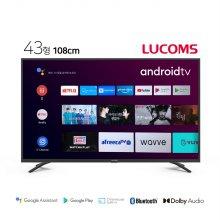109cm UHD 솔로앤 스마트 TV T4307TUA (스탠드형 기사설치)
