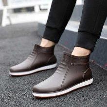 낚시 발목 장화 숏부츠 레인 방수 고무 신발 스타일