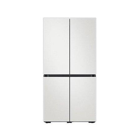 비스포크 4도어 냉장고 RF85T92P1AP (850L, 코타 화이트, 1등급)