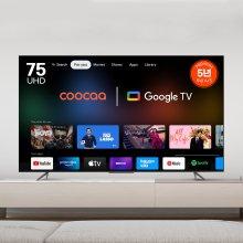 190cm (75인치) 쿠카 UC751UHD THE SMART AI PRO 스마트TV (스탠드설치/기사방문)