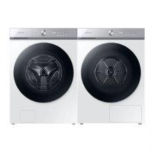그랑데 AI 드럼 세탁기(24kg)+건조기(19kg) 세트 WF24A9500KW+DV19A9740CW (화이트)