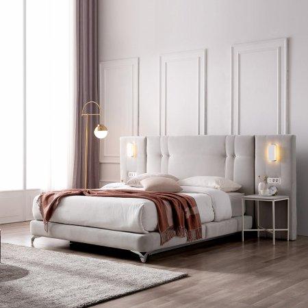 베디스 호텔식 베네치아 LED조명 평상형 침대 (SS/Q/K)
