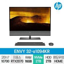 ENVY 32-a1094KR 일체형PC / i7-10세대 / Win10 / 16GB / SSD 2TB / HDD 2TB