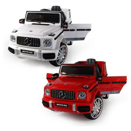대호토이즈 벤츠 지바겐 G63 AMG NEW 유아전동차 (화이트/레드) 색상선택