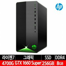 파빌리온 게이밍 컴퓨터 TG01-1603KL 라이젠7/GTX1660SUPER/RAM 8G/NVME 256G