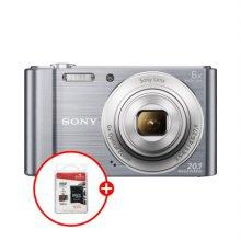 [32G 메모리+파우치 증정]소니 사이버샷 디지털카메라[실버][DSC-W810]
