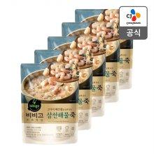 [CJ제일제당] 비비고 삼선해물죽 420g x 5개