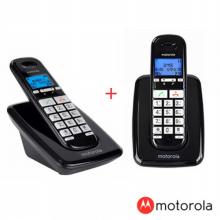 모토로라 디지털 한글지원 무무선전화기 S3001A+S3001AH (B+B)