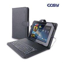 COSY 태블릿 키보드 케이스(7) CSNA-033 [태블릿PC케이스/ 안드로이드 2.2이상/ 키보드케이스, USB포트 2개]