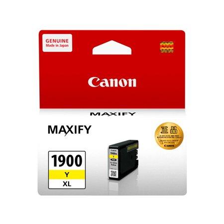 [정품/대용량]캐논 컬러잉크[PGI-1900Y_XL][노랑][대용량][900매/호환기종:MB2390]