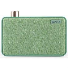 블루투스 스피커 EMIE-CANVAS-GREEN [ 그린 / 강하고 선명한 파워풀 사운드 제공 / 감성적인 디자인과 콤팩트한 사이즈 ]