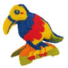볼클레이 새 만들기 - 큰부리새 1개