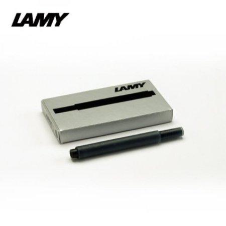 라미 잉크 카트리지 T10 5개입 T10 블랙:1EA