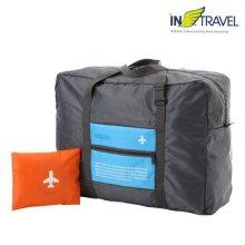 여행용 접이식가방(블루)