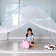 원터치모기장 블루 (100x130) 유아용