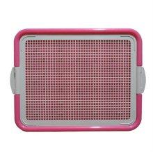 애견평판화장실 AMT-40 핑크
