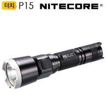 나이트코어 LED 후레쉬 P15 430루멘 충전용 랜턴