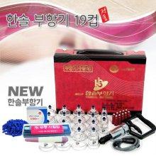 한솔부항기 고급형 19컵+사혈기+란셋100P세트