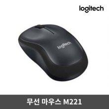 무소음마우스 M221 [블랙][무선]