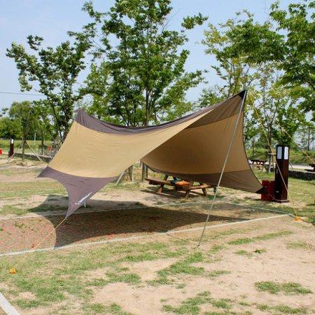 실속형5.6M 캠핑용 헥사타프