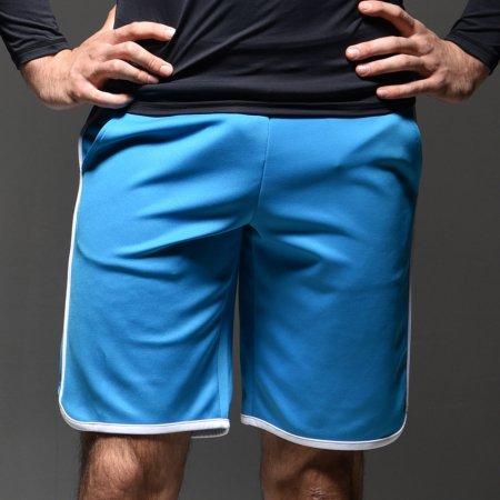 돌핀반바지 래쉬가드 블루 XL 남성