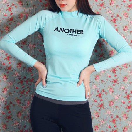 ANOTHER 래쉬가드 민트 M 여성