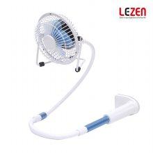 거치대형 선풍기 LEZ-U100 / 블루