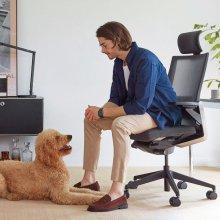 T80 시리즈 T800HLDA 메쉬/화이트쉘메쉬 의자