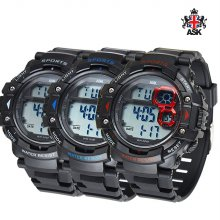 SK346B/남성/디지털 전자시계