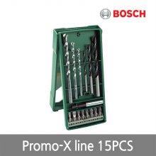 [보쉬] 비트세트 Promo-X line 15PCS