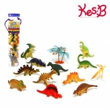 [캐스B]네이처 사파리튜브(소) 공룡 13PCS