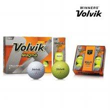 볼빅 마그마 Magma 12구 볼 골프볼 골프용품 옐로우