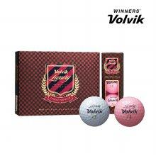 볼빅 럭셔리볼 Luxury 12구 골프볼 골프용품 핑크