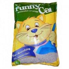 고양이모래 고양이 향기모래 (5L)x4개(1세트) W1B9C1E