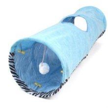 펫라이프 쥬쥬 터널 (90cm) - 블루 애완용품 W234C87